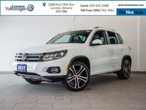 2017 Volkswagen Tiguan Highline With R-Line+ONLY 8500KMS+NAVI+PA