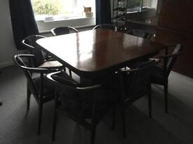 Extendable (French Polished) Dining Table