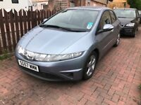 "DESIERABLE "" LOW MILEAGE HONDA CIVIC 1.8 VTEC SE. 1 OWNER LOVELY CONDITION"