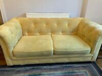 3 seater Chesterfield design sofa