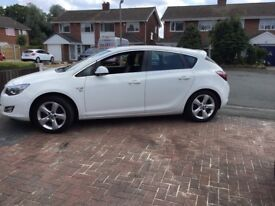 Vauxhall Astra 1.4 Petrol great car to drive and very good on MPG..