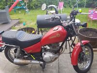 Good reliable bike ideal first bike selling it due to passing test and getting bigger bike