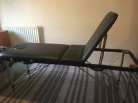 Lightweight portable aluminium massage table+carry bag. PERFECT CONDITIONS.bought 6months ago