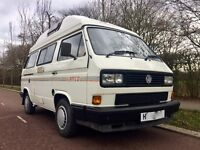 1991 VW T25 AUTOHOMES KAMEO 2.1 FUEL INJECTION PETROL 75,000 MILES, PRICED TO SELL AND HOLIDAY READY