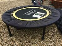 Small trampoline with cover