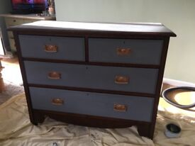 Chest of draws - very stylish re-furbished in very good condition