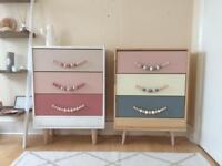 Handmade chest of drawers