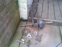 50 cc kazuma engine need startor motor also kazuma wheels and rear axle and hubs pick up pontypool