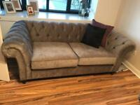 Chesterfield Fabric Sofas