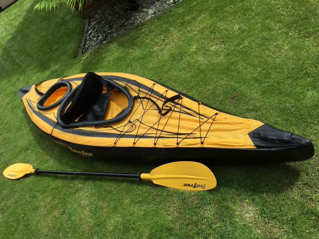 Sevylor Pointer K1 Inflatable Canoe Plus Accessories In
