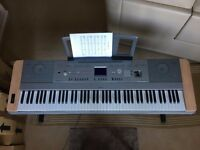 Yamaha DGX-640 Digital Grand Piano with Stool