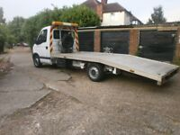 08 reg renault master ll35 dci 120 recovery truck 6 speed 2464cc diesel