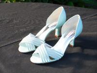 Jaques Vert Julep Ladies Open shoes in Jade