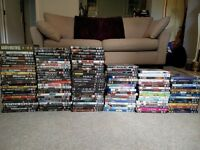 £50 for over 100 DVDs and around 10 Blu-Rays - All decent films!