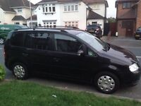 VW Touran 1.6 ****Low Milage & Full Service History****