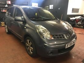 Nissan Note 2008 Grey Auto