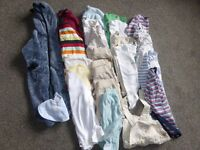Bundle of baby boys clothing age 0-3 months