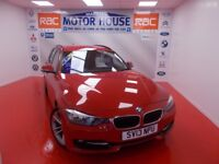 BMW 320i SPORT TOURING (STUNNING) FREE MOT'S AS LONG AS YOU OWN THE CAR!!! (red) 2013