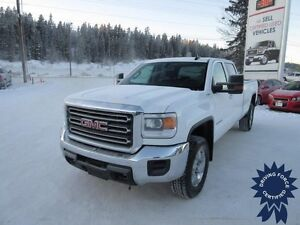 2015 GMC Sierra 3500HD  SLE, Crew Cab, Chrome Wheels, 40,976 KMs