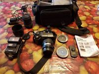 Olympus E300 digital SLR and accessorys
