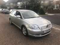 2006/06 TOYOTA AVENSIS 1.8 T3X ONLY 1 PREVIOUS OWNER SERVICE HISTORY LONG MOT