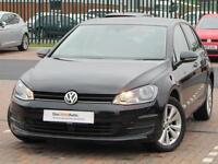 Volkswagen Golf SE TSI BLUEMOTION TECHNOLOGY DSG (black) 2014-05-28
