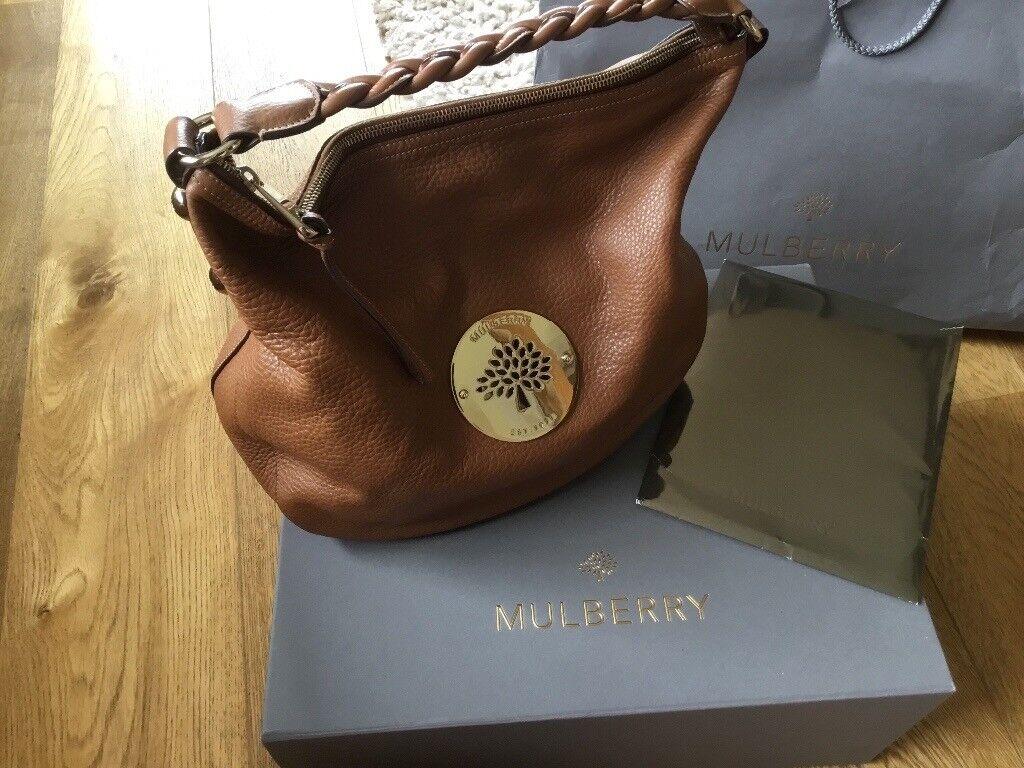 41646ceb2315 Mulberry Daria Hobo oak bag