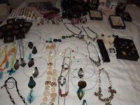 Job Lot Jewellery - Necklaces, Bracelets, Earrings, Watches, Rings, Tiaras etc