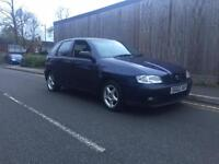 Seat ibiza 1.4 petrol low mileage mot and tax 2002 bargain cheap car spares or repairs