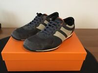HUGO BOSS ORANGE Mens Trainers / Casual Shoes - Grey Size UK10 EU44 Boxed In Excellent Condition