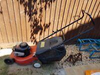 Petrol Lawnmower - Working