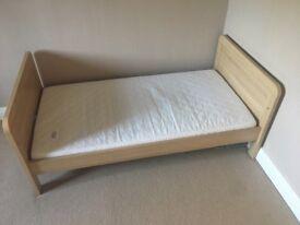 Mama's & Papa's Cot Bed with mattress