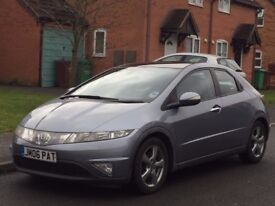 2006 Honda Civic CDTi (Turbo Diesel) Economical..S/History..Long mot
