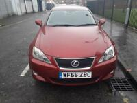 LEXUS IS 2.2 220D 4d 175 BHP (red) 2006