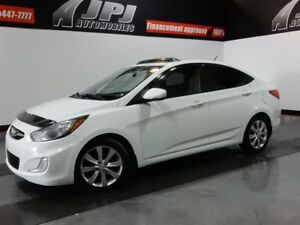 2012 Hyundai Accent GLS-MAGS-FOGS-TOIT OUVRANT-AILERON GLS-MAGS-
