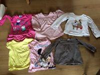 Girls clothes bundle age 1-2