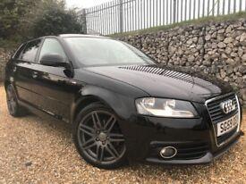 Audi A3 1.6 S Line Sportback 5dr £0 DEPOSIT FINANCE AVAILABLE