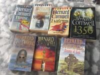 Bernard Cornwall Grail Quest full set and Warlord Chronicles Trilogy
