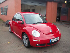 57 PLATE VW BEETLE 1.6 LOW MILAGE SEPT 2017 MOT LOVELY CONDITION THROUGHOUT
