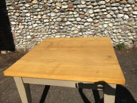 Oak Topped Dining Table