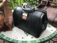 Vintage doctors/ solicitors/ barristers bags x 6 Gladstone etc , fund raising