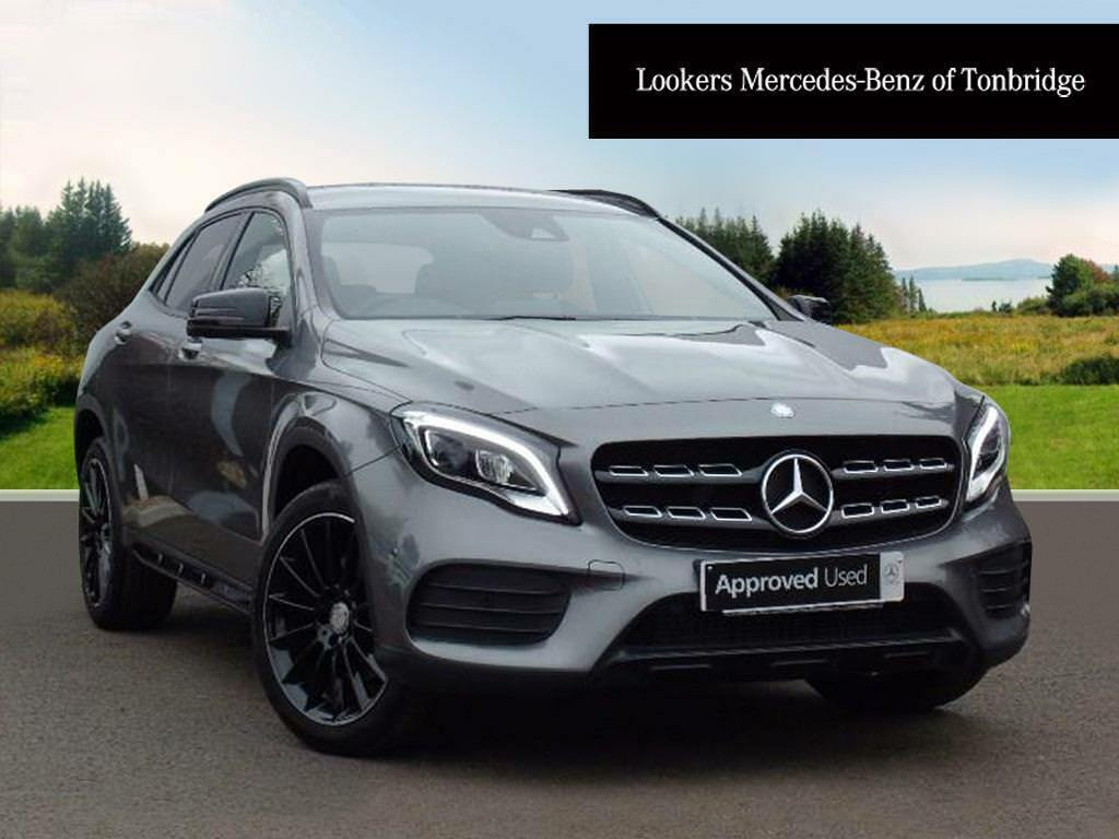 mercedes benz gla class gla 220 d 4matic amg line premium grey 2017 04 18 in tonbridge kent. Black Bedroom Furniture Sets. Home Design Ideas