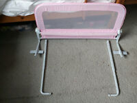 BED RAILS MOTHERCARE hardly used by grandchildren fully adjustable