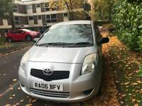 2006 toyota yaris 1.0 T2 5 door - long mot