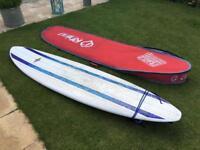 """Wavetek 7'6"""" Minimal Surfboard and Rhino bag"""
