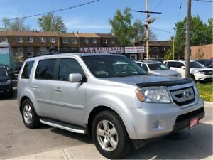 2011 Honda Pilot EX-L Leather|Sunroof|Camera|8 Pass|No Accidents