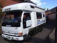 STOLEN (Reward) Nissan Atlas EXE campervan motorhome