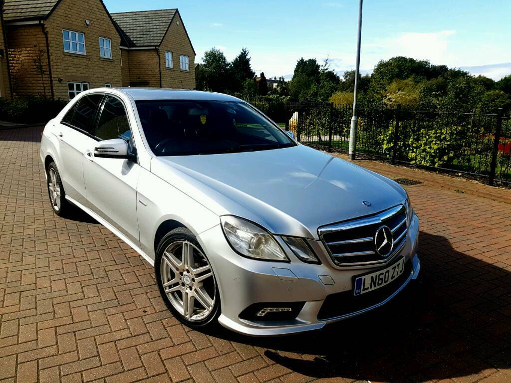 2011 mercedes e class e220 cdi auto amg sport spec silver 4 door l e d drl 12 months mot in. Black Bedroom Furniture Sets. Home Design Ideas