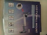 CARAVAN/MOTORHOME LCD TV WALL MOUNT. MODERN STAR SHAPE FOR NEWER TV'S