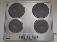 ZANUSSI ELECTRIC HOB STAINLESS STEEL 60 CMS
